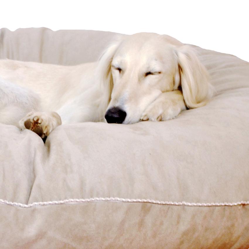 Dormir Donut Soft beige-grau