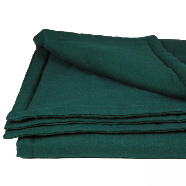 Decke aus Leinen